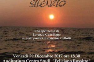 """""""Il Canto del Silenzio"""" al Centro Studi Feliciano Rossitto"""