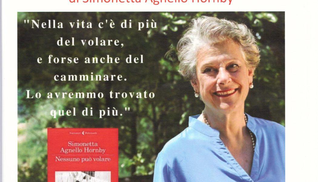 """Presentazione del Libro di Simonetta Agnello Hornby, """"Nessuno può volare""""."""