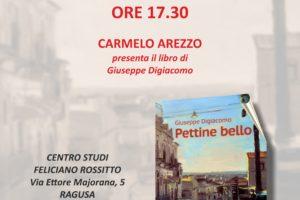 """Presentazione del libro """"Pettine Bello"""" di Giuseppe Digiacomo"""