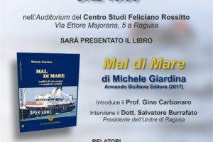 """Presentazione del libro """"Mal di mare"""" di Michele Giardina"""